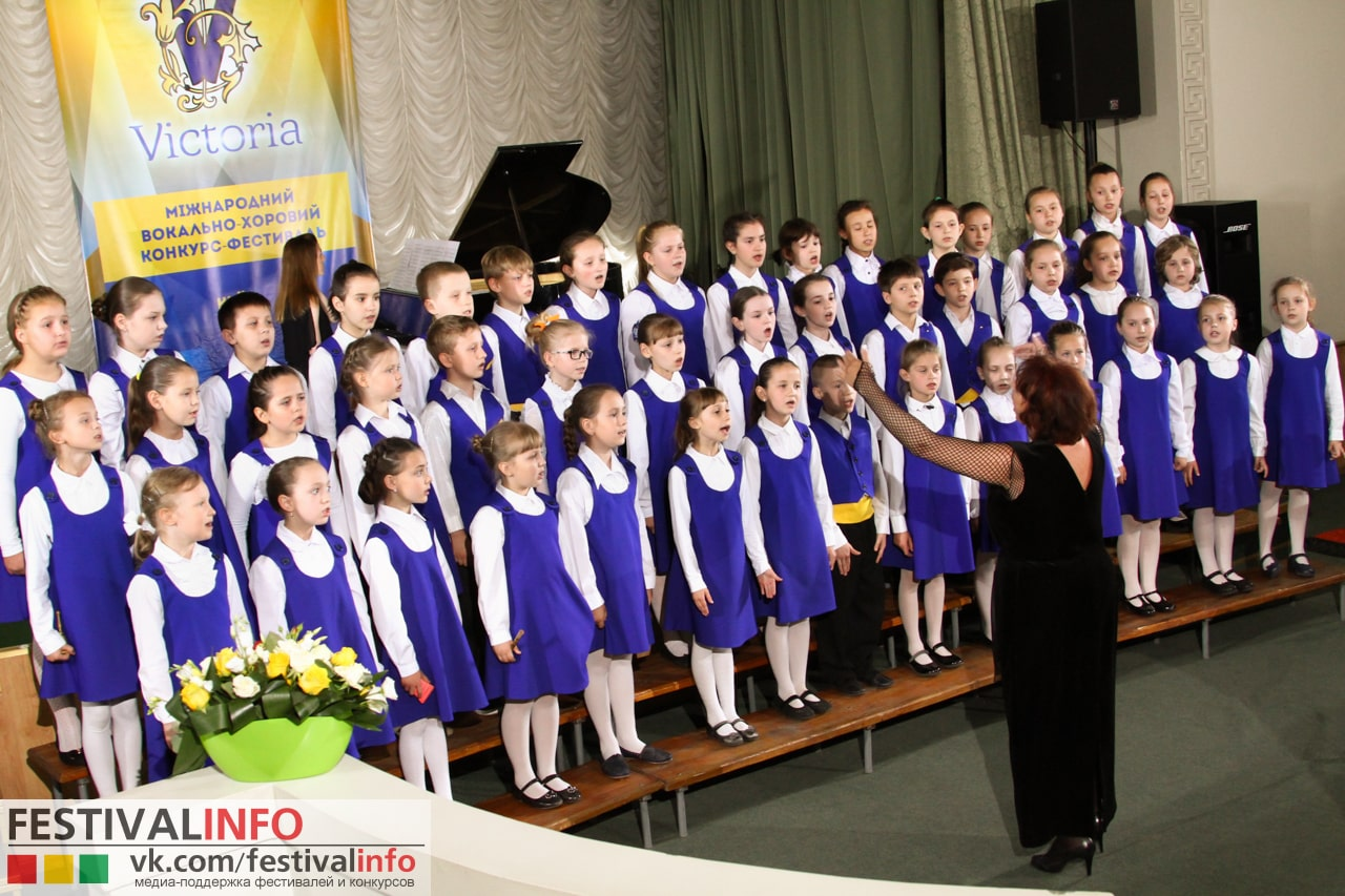 Children's choir of the Ukrainian radio